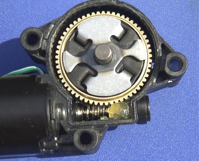 Firebird Headlight Motor Gears By Rodney Dickman