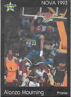 ALONZO MOURNING CARDS