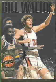 BILL WALTON CARDS
