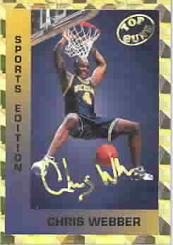 CHRIS WEBBER CARDS