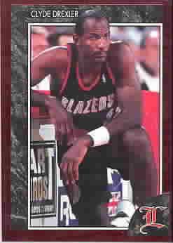 CLYDE DREXLER CARDS