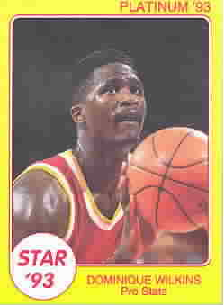 DOMINIQUE WILKINS CARDS