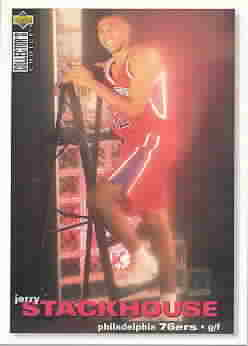 JERRY STACKHOUSE CARDS
