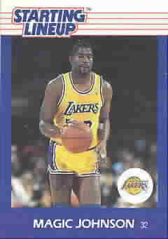 MAGIC JOHNSON CARDS
