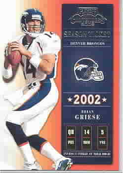 BRIAN GRIESE CARDS
