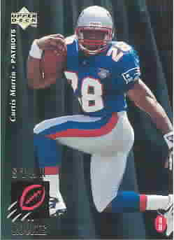 CURTIS MARTIN CARDS