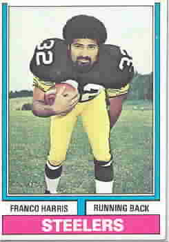 FRANCO HARRIS CARDS