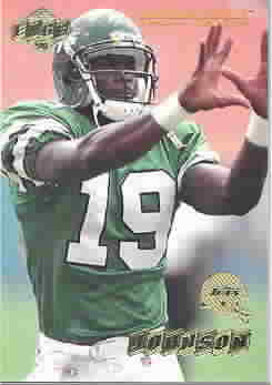 KEYSHAWN JOHNSON CARDS