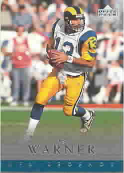 KURT WARNER CARDS