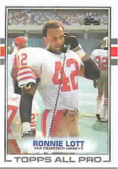 RONNIE LOTT CARDS