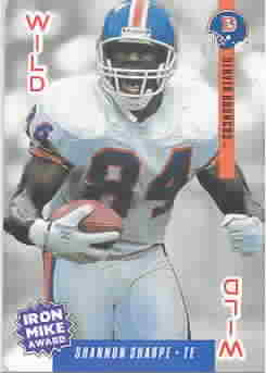 SHANNON SHARPE CARDS