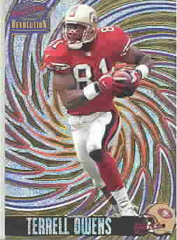 TERRELL OWENS CARDS