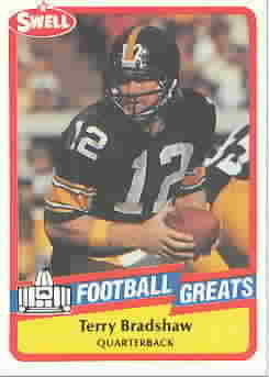 TERRY BRADSHAW CARDS
