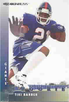 TIKI BARBER CARDS