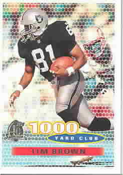 TIM BROWN CARDS