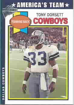 TONY DORSETT CARDS