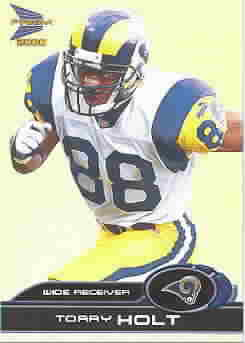 TORRY HOLT CARDS