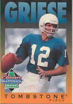 BOB GRIESE CARDS