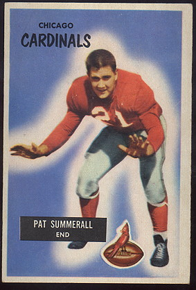 1955 Bowman Football cards