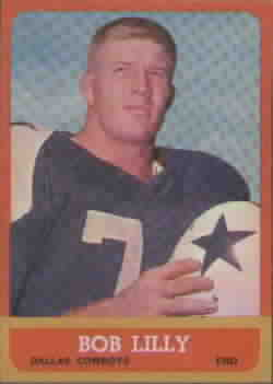 1963 Topps Football cards